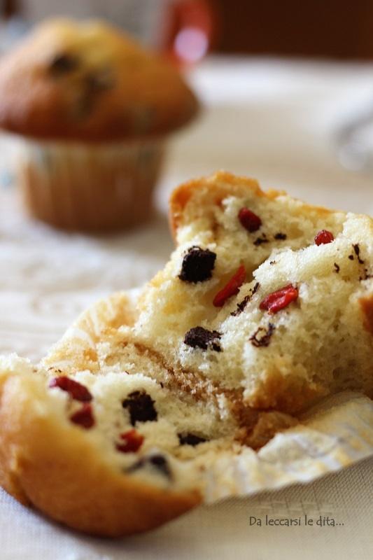 Muffin soffici con ricotta