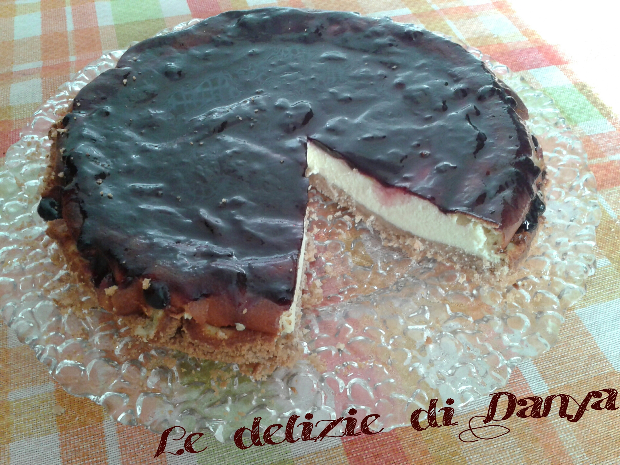 CHEESECAKE ALLA MARMELLATA DI MORE
