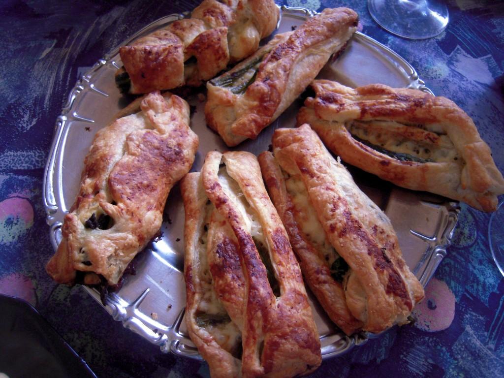 Scrigni di asparagi e mandorle