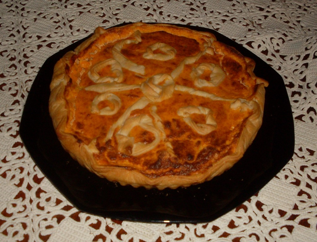 Crostata all'amatriciana