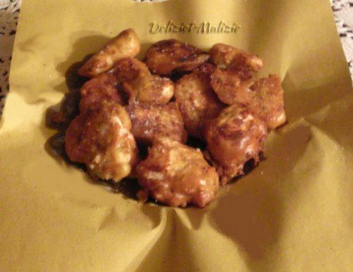 Pepite di pollo in pastella leggera alle erbe