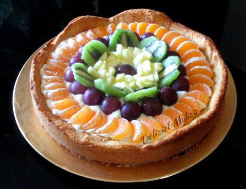 Crostata di chantilly e frutta fresca