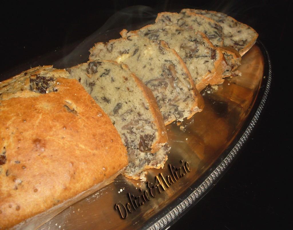 Plumcake al taleggio e radicchio trevigiano