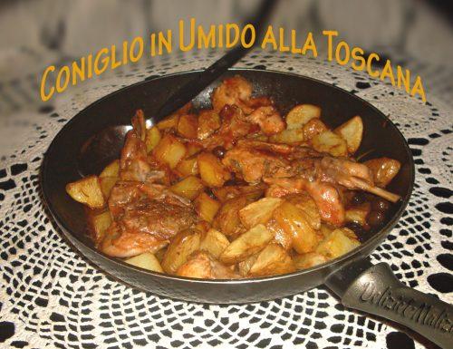 Coniglio alla toscana, ricetta originale di antica tradizione