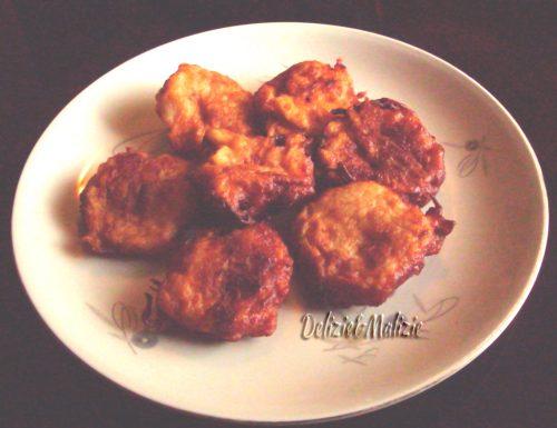 Frittelle di cipolle allo zenzero