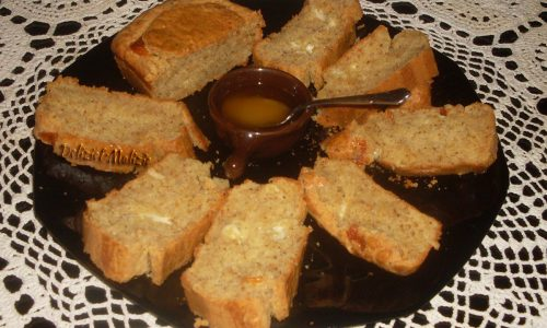 Plumcake ai formaggi e noci