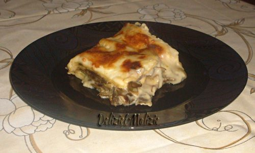 Lasagne carciofi e brie, un gusto tutto da provare