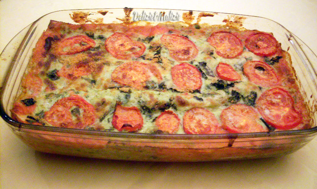 Lasagne tricolore