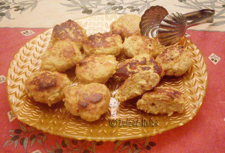Crocchette di tacchino e peperoni