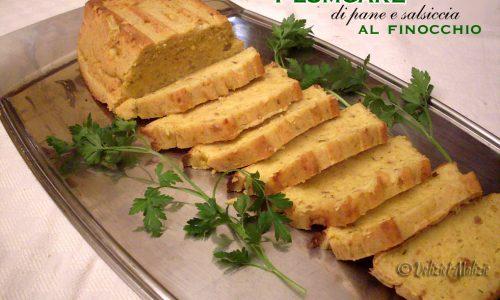 Plumcake di pane e salsiccia al finocchio