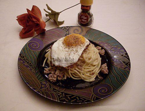 Spaghetti ricchi alla Bismark