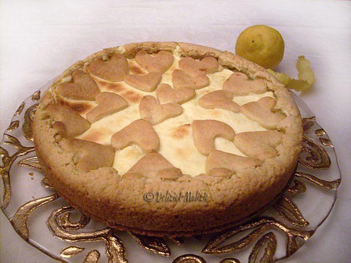 Crostata soffice al limone come in pasticceria