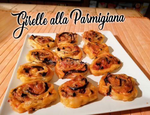 Girelle alla parmigiana, un antipasto facile e un successo sicuro