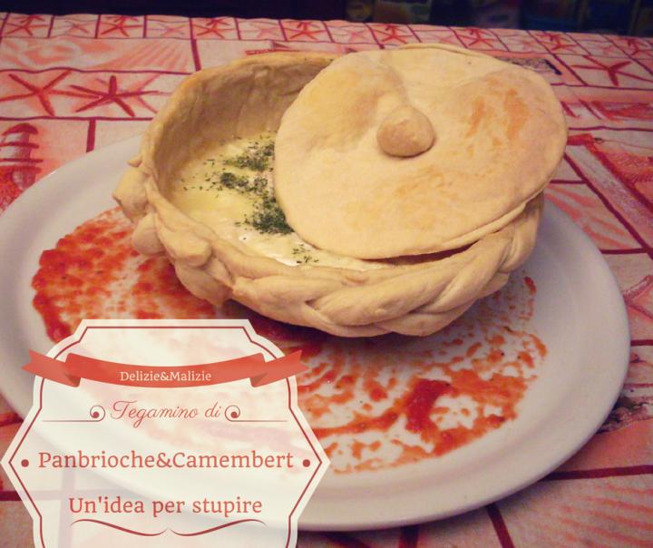 Tegamino di panbrioche al camembert, un'idea per stupire