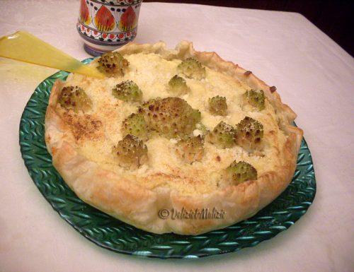 Sfogliata di cavolfiore e broccoli romaneschi