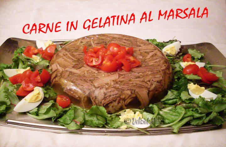 Carne in gelatina al marsala, fatta in casa è semplice e squisita