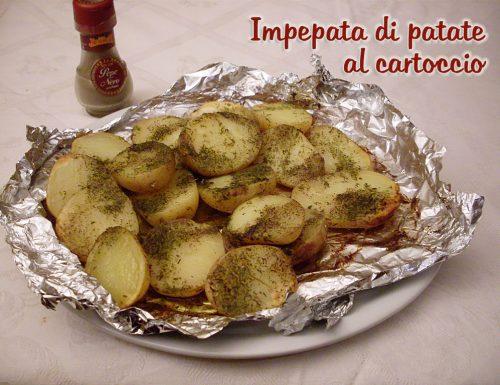 Impepata di patate al cartoccio