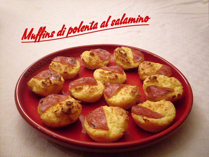 Muffins di polenta al salamino – ricetta di riciclo