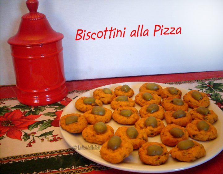Biscottini alla pizza