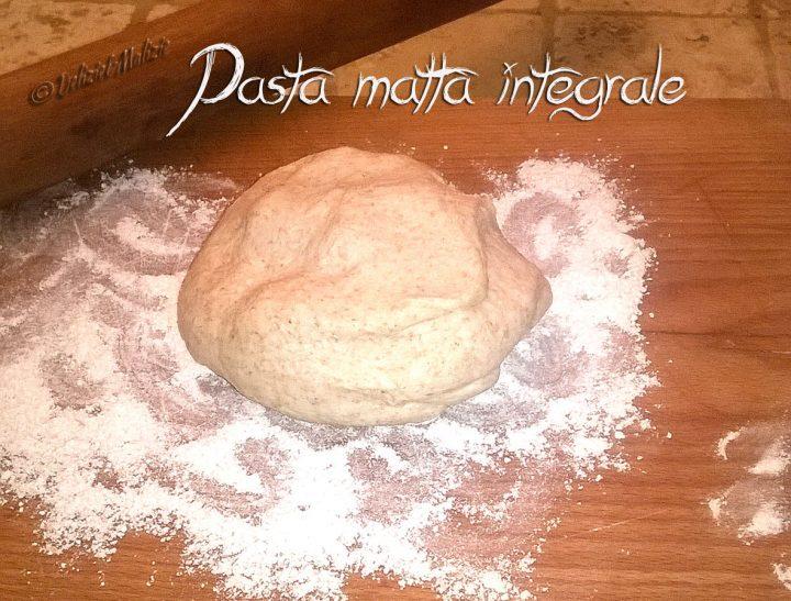 Pasta matta integrale – una base ideale per le torte rustiche