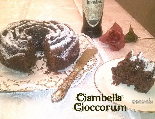 Ciambella soffice CioccoRum