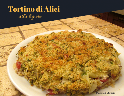 Tortino di Alici alla ligure