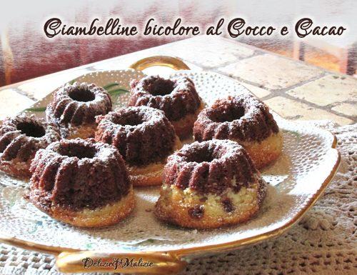 Ciambelline bicolore al Cocco e Cacao