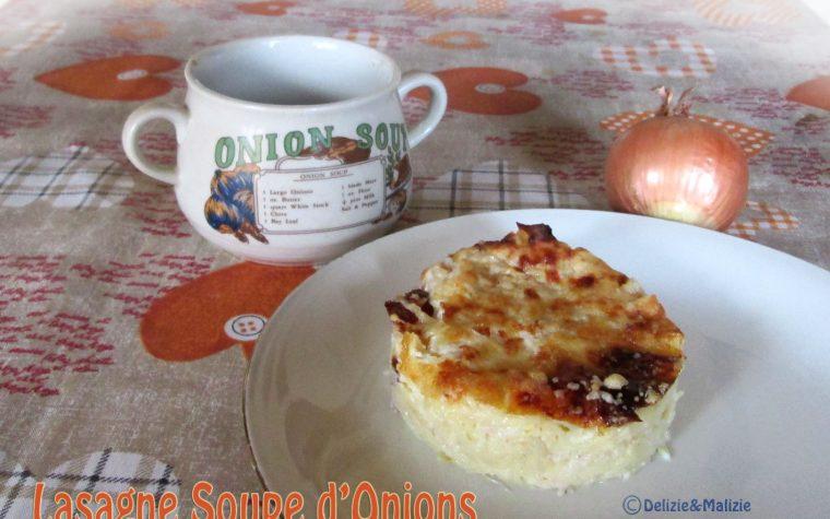 Lasagne soupe d'onion