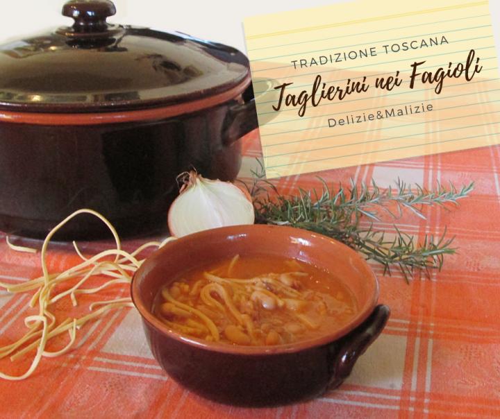 """Taglierini """"nei"""" Fagioli"""