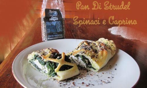 Pan di Strudel Spinaci e Caprino