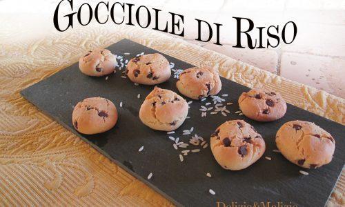 Gocciole di Riso, golosi biscotti light