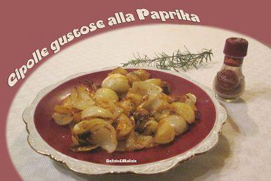 Cipolle gustose alla Paprika