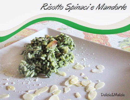 Risotto Spinaci e Mandorle