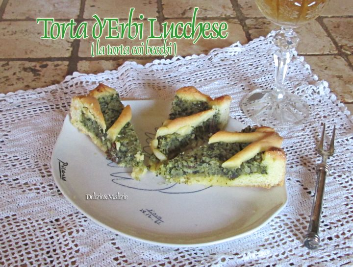Torta d'Erbi lucchese ( torta coi becchi)