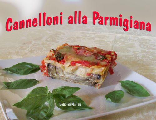 Cannelloni alla Parmigiana facili e veloci