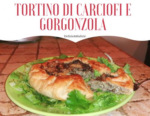 Tortino di Carciofi e Gorgonzola