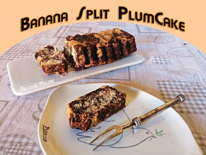 Banana Split Plumcake