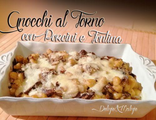 Gnocchi al forno con Porcini e Fontina