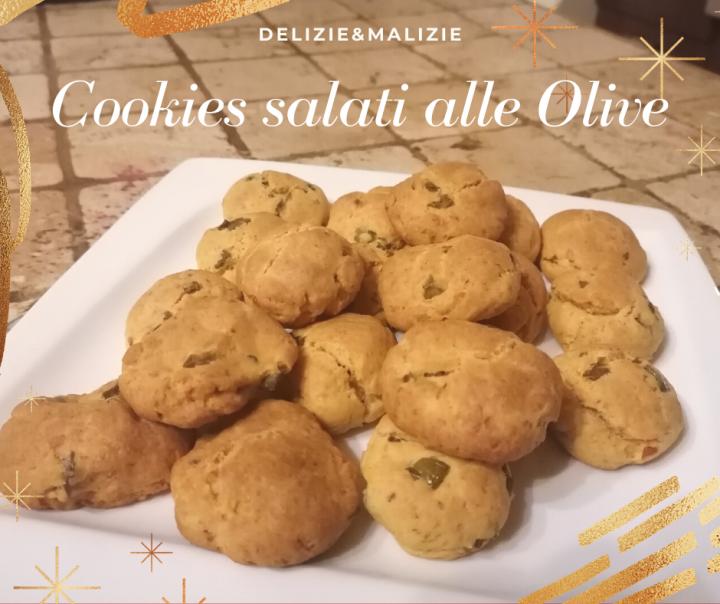 Cookies salati alle Olive e Pomodori secchi