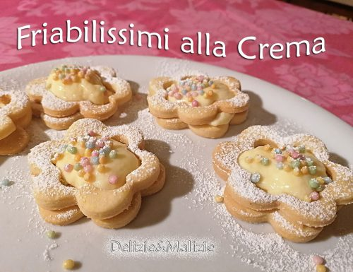 Biscotti friabilissimi alla crema