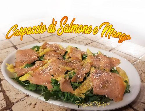 Carpaccio di Salmone e Mango