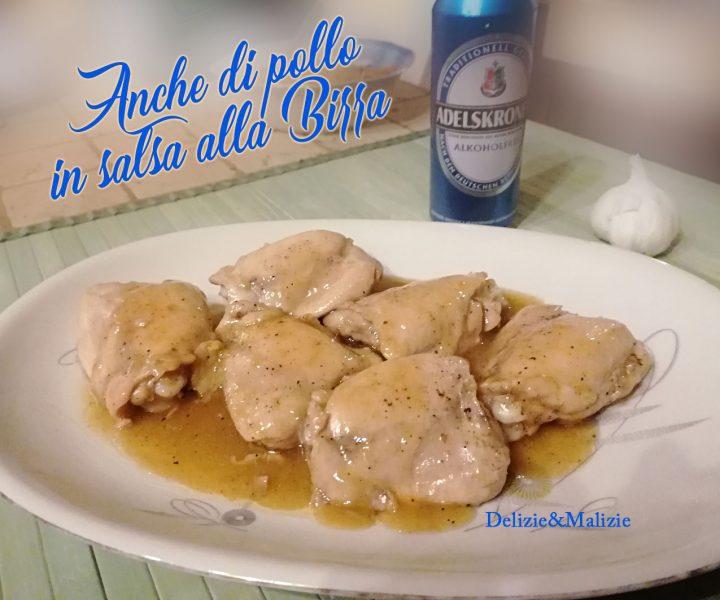 Anche di pollo in salsa alla Birra