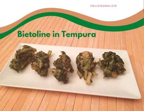 Bietoline in Tempura