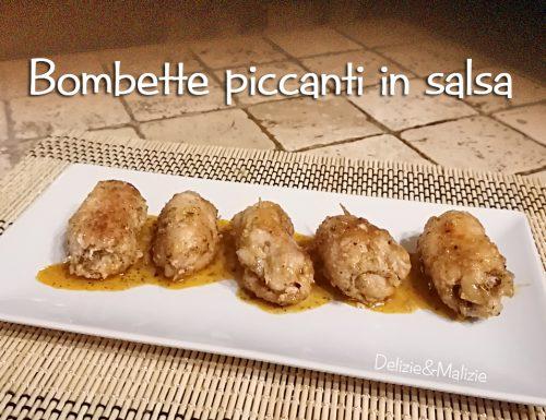 Bombette piccanti in salsa