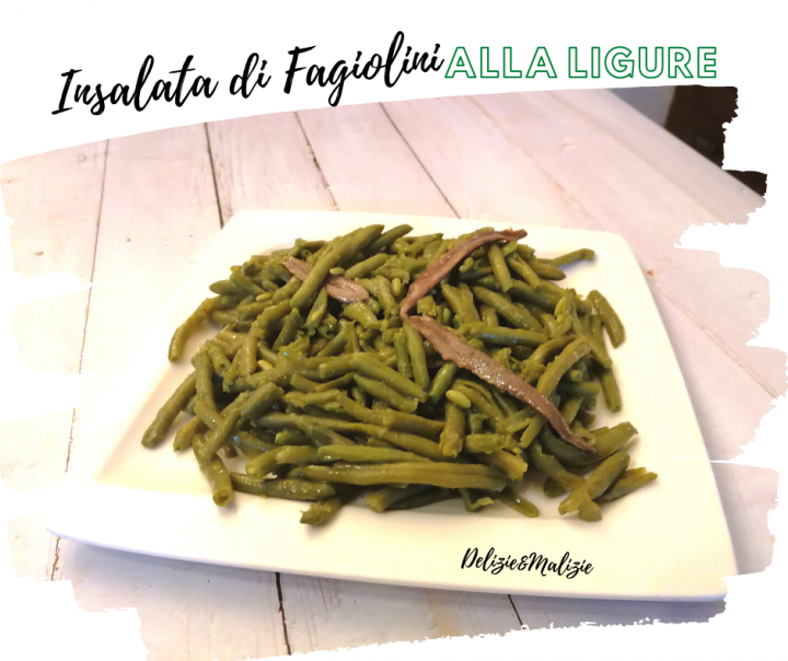 Insalata di Fagiolini alla Ligure