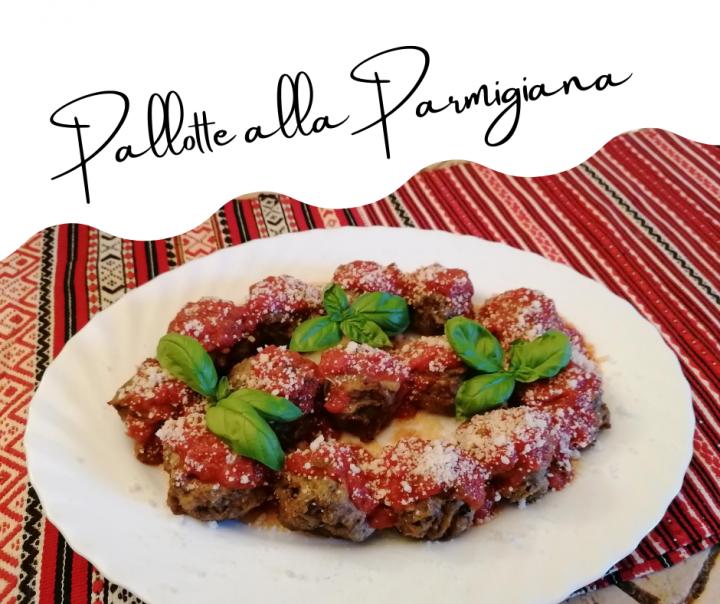 Pallotte alla Parmigiana