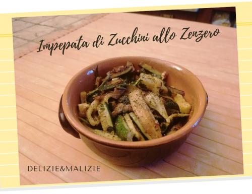 Impepata di Zucchini allo Zenzero
