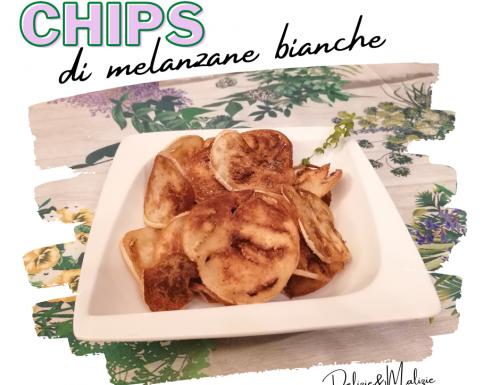 Chips di melanzane bianche