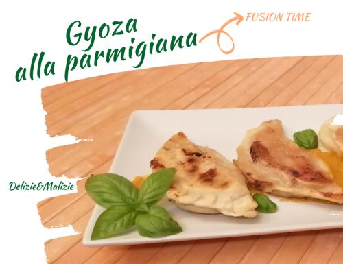 Gyoza alla Parmigiana