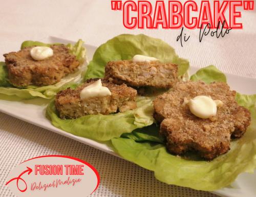 """""""CrabCake"""" di pollo"""